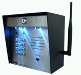 RE-2 Flush Mount Telephone Entry System